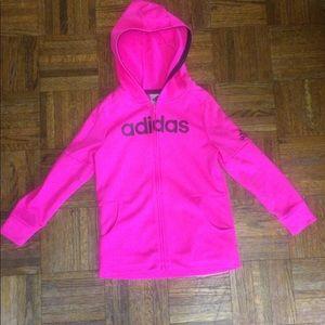 Girls Adidas jacket size 6X